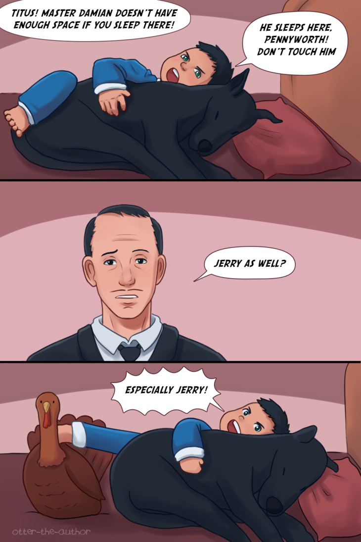 Never Forget Jerry by OtterTheAuthor | Tumblr | Batman