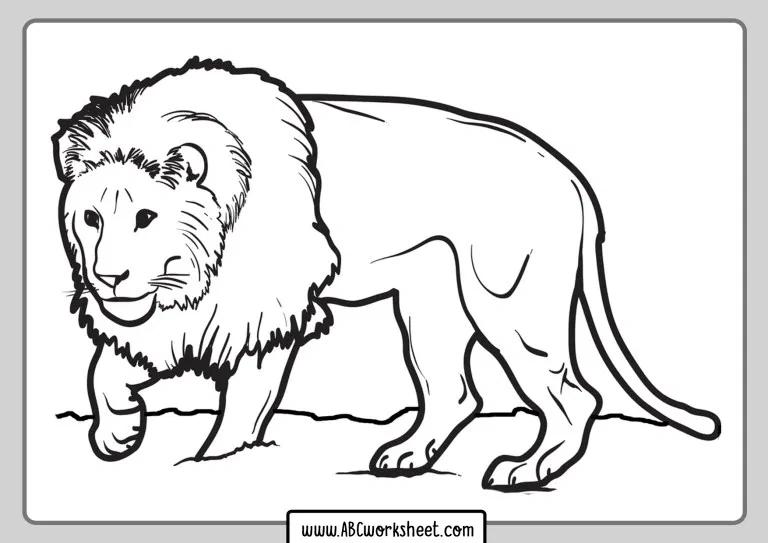 Lion Coloring Pages For Kids Lion Coloring Pages Animal Coloring Pages Angel Coloring Pages
