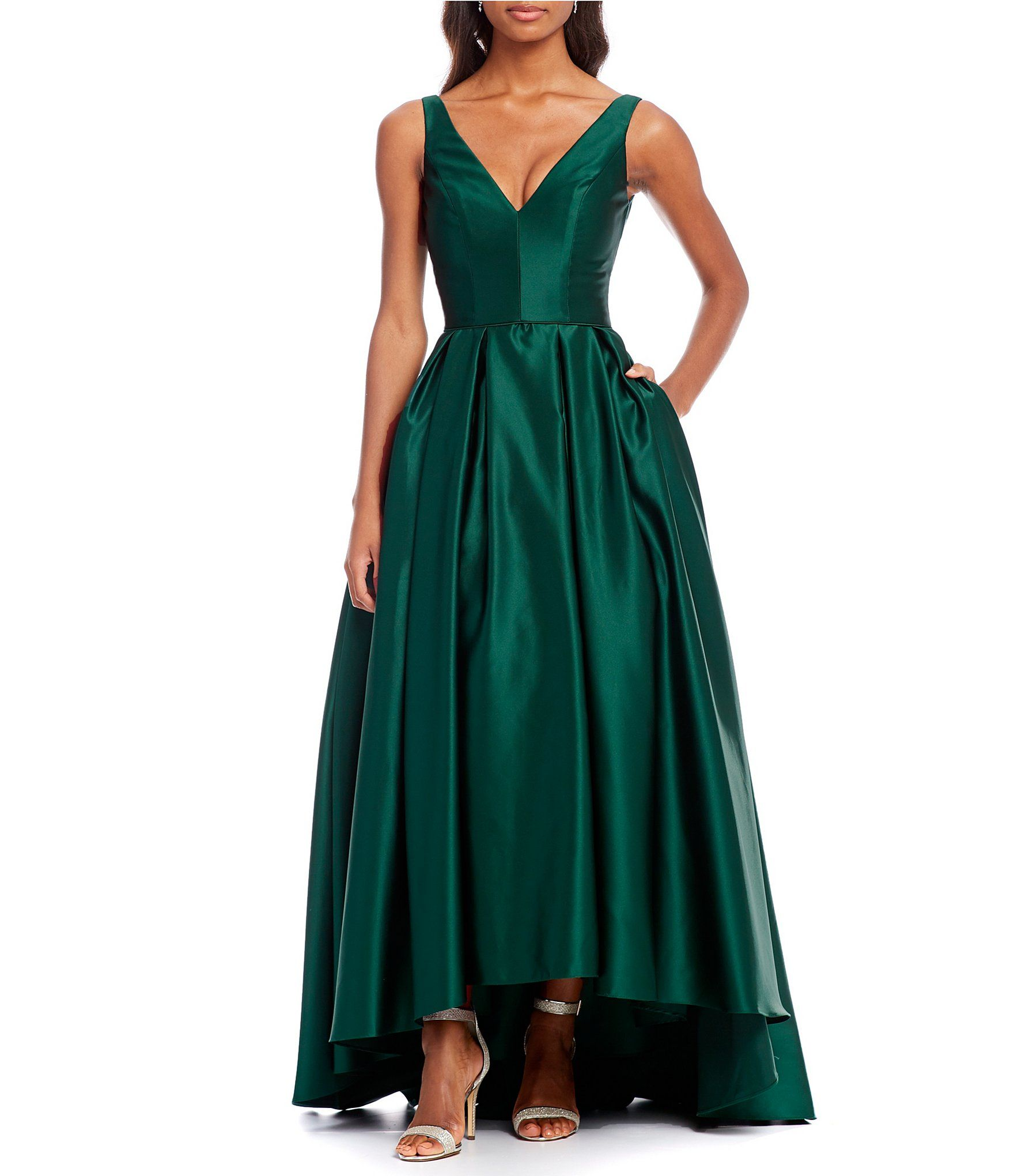 Shop for Betsy   Adam V-Neck Hi Lo Gown at Dillards.com. Visit Dillards.com  to find clothing 6d2e3d809577