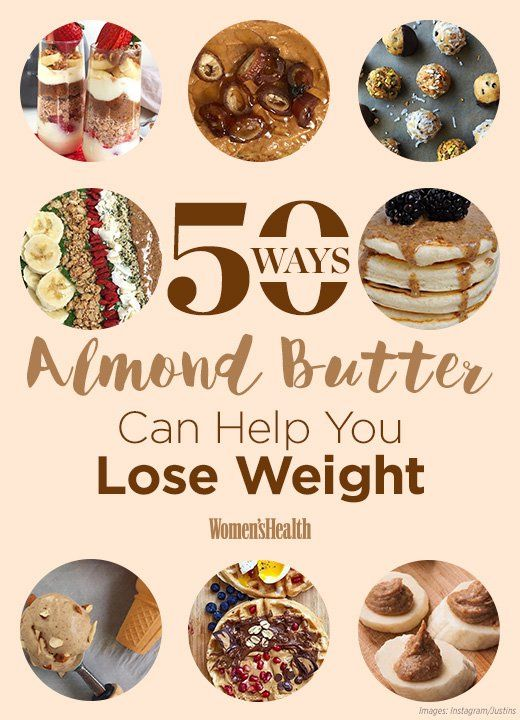50 Healthy Almond Butter Hacks That Are a Party in Your Mouth  http://www.womenshealthmag.com/weight-loss/almond-butter-weight-loss