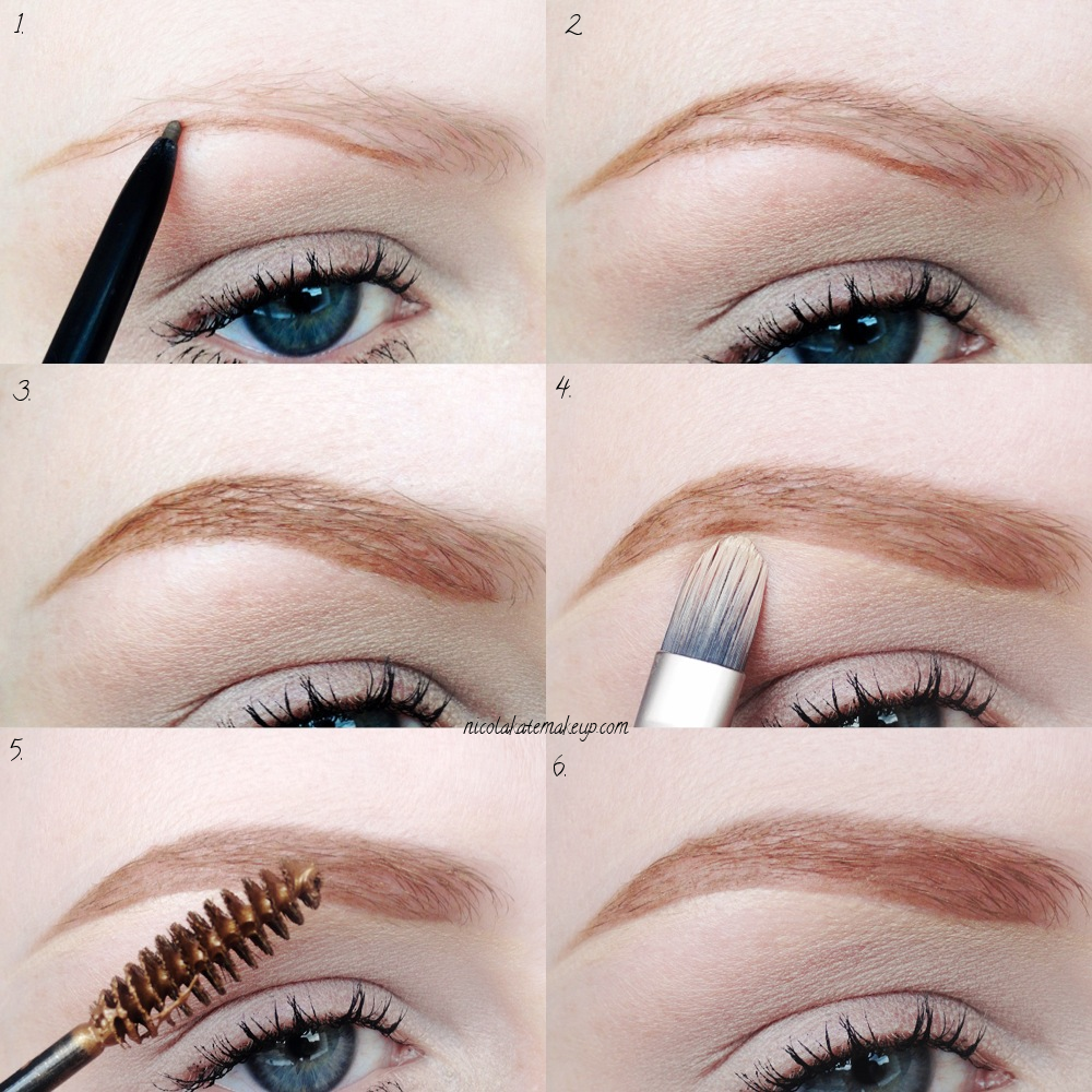 Blonde Eyebrow Makeup Tutorial Creativmakeup Co