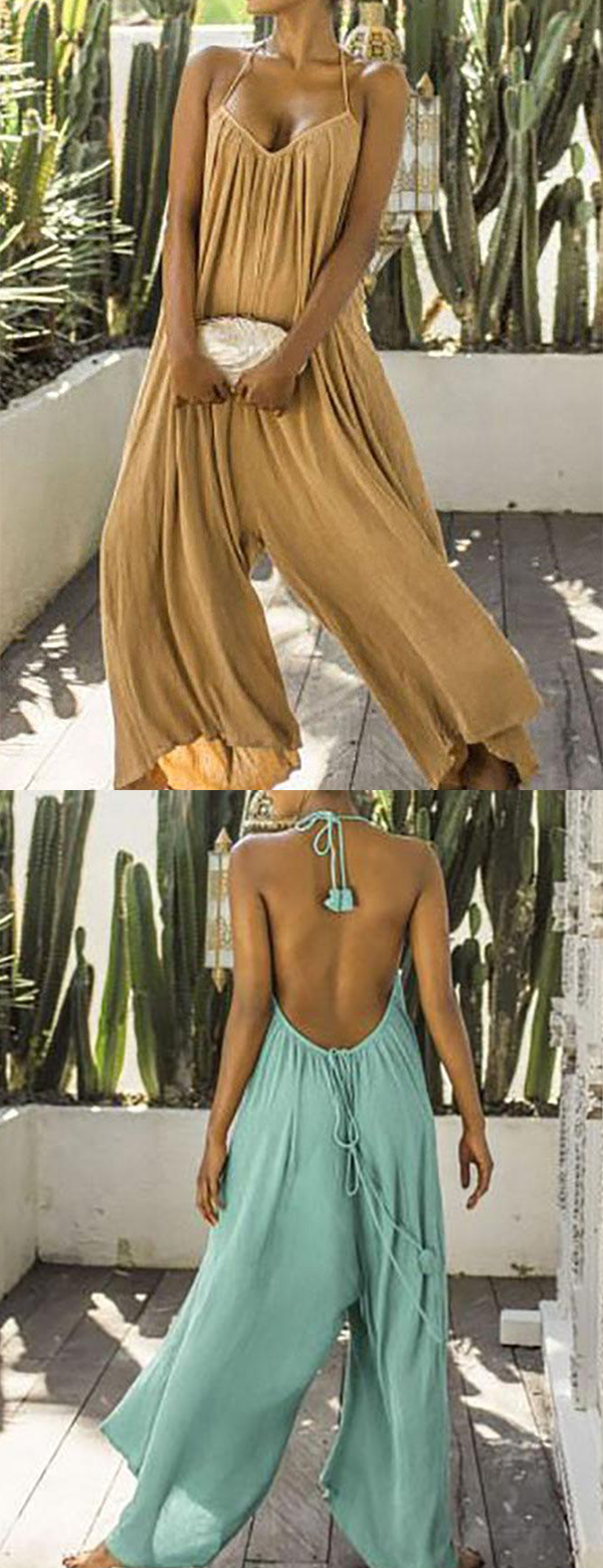 Jumpsuits #summervacationstyle
