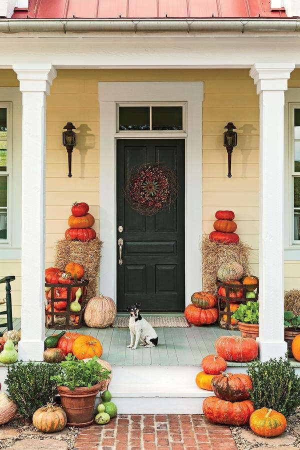 16 Ways to Spice Up Your Porch Décor for Fall