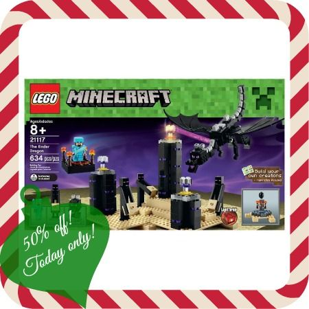Target: 50% off LEGO Minecraft Creative Adventures The Ender Dragon ...