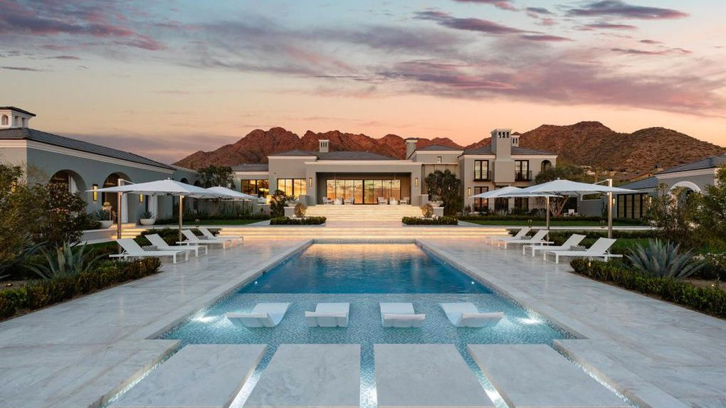 26m contemporary mansion in scottsdale is arizona s most expensive rh pinterest ie