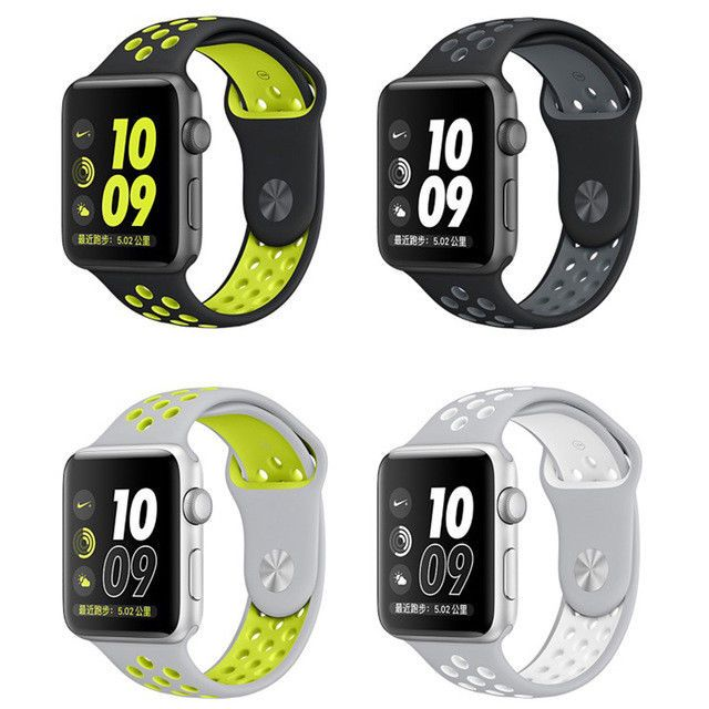 niño super especiales materiales de alta calidad Apple Watch Series 2 Nike+ 38mm or 42mm Silver Plus Space Gray *A ...