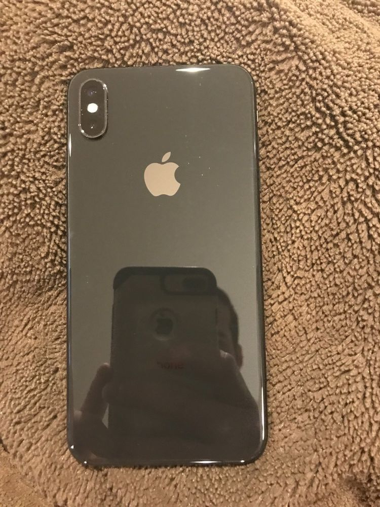 Apple Iphone Xs Max 256gb Space Gray At T A1921 Cdma Gsm Apple Iphone Iphone Accessories Iphone