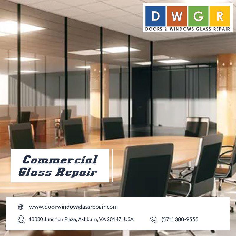 Commercial Glass Repair #glassrepair
