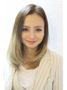 ワンレンアッシュグラデ L000568586 オーブ ヘアー ガーデン 渋谷店 Aube Hair Garden のヘアカタログ ホットペッパービューティー ヘアスタイリング 髪型 ヘア アイディア