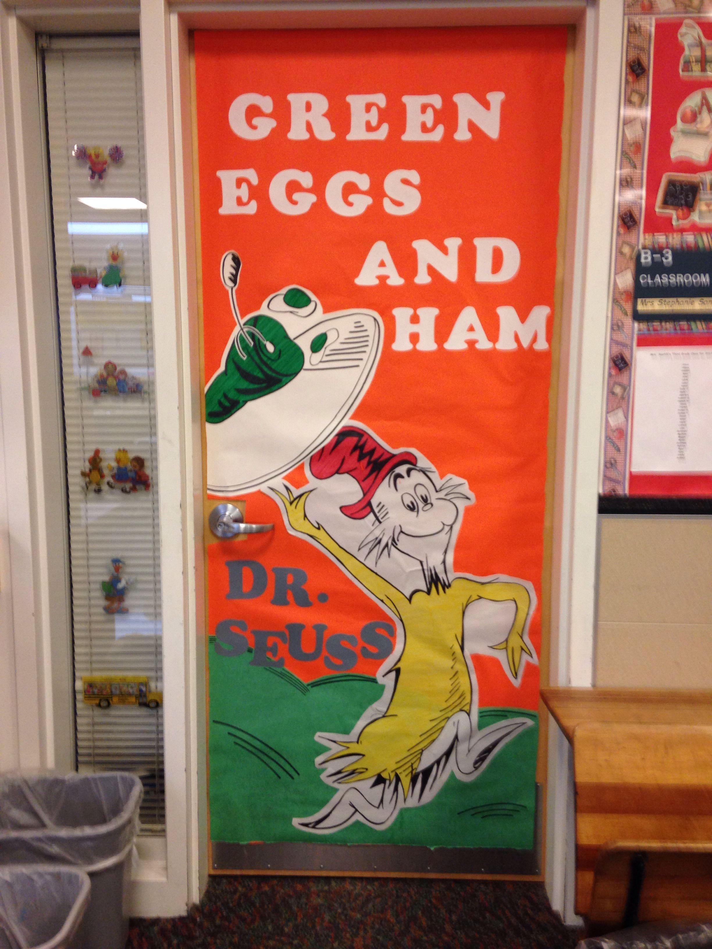 Green Eggs And Ham School Door