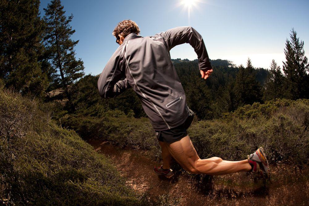 Mountain Running Wallpaper