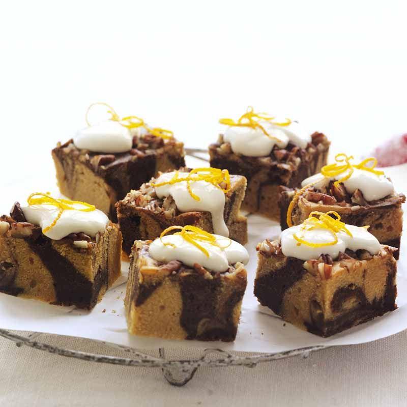 Jaffa sour cream brownies healthy recipe ww australia