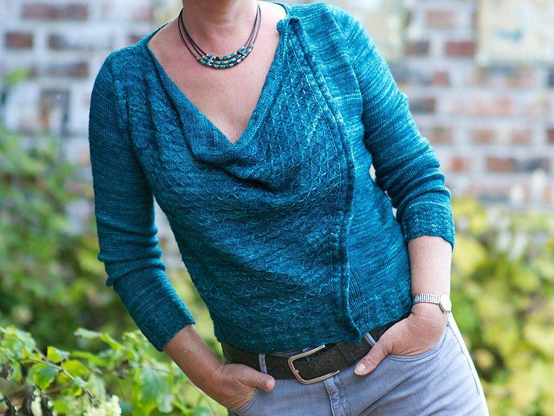 Strickanleitung für Jacke/Pullover Samira - fashionworks