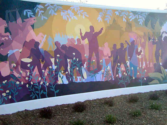 Aaron douglas mural mural ideas pinterest african for African american mural