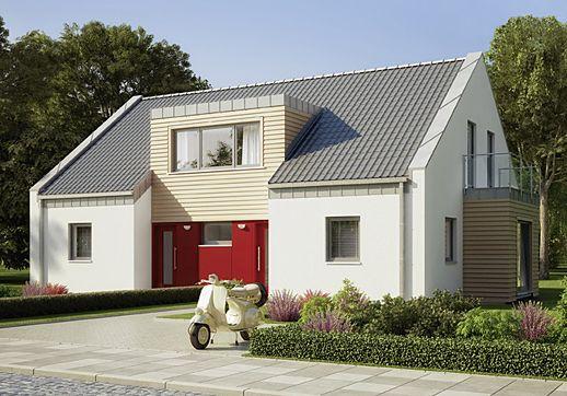 Haus bauen modern flachdach kleines einfamilienhaus - Was macht ein innenarchitekt ...