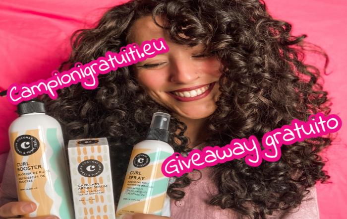 Giveaway Cocunat vinci kit di prodotti per capelli ricci