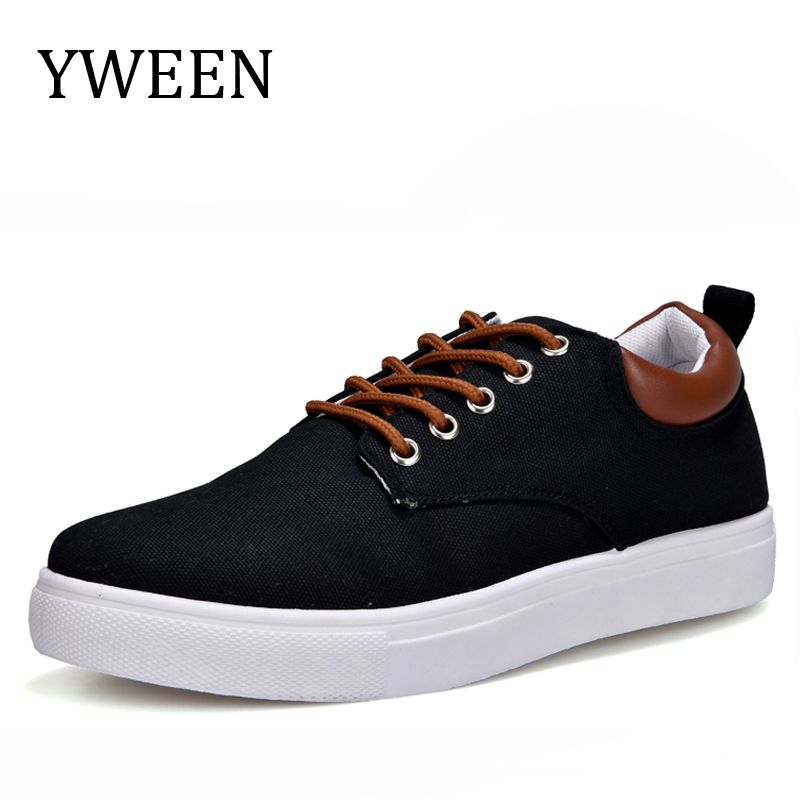 Men's Casual ShoesMan Spring Autumn Style Flats Fashion Sneakers For Men Solid Canvas Shoes