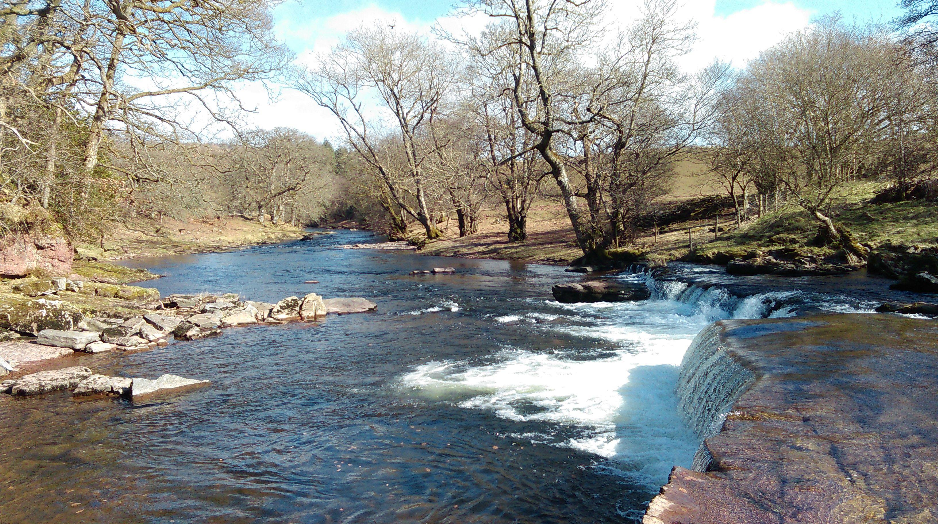 River Usk near Sennybridge