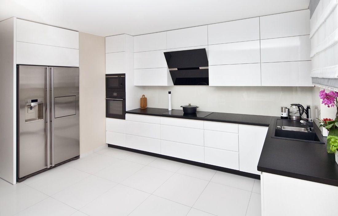 Nowoczesna Biala Kuchnia Darex Szczecin White Modern Kitchen White Kitchen Design Kitchen Furniture Design