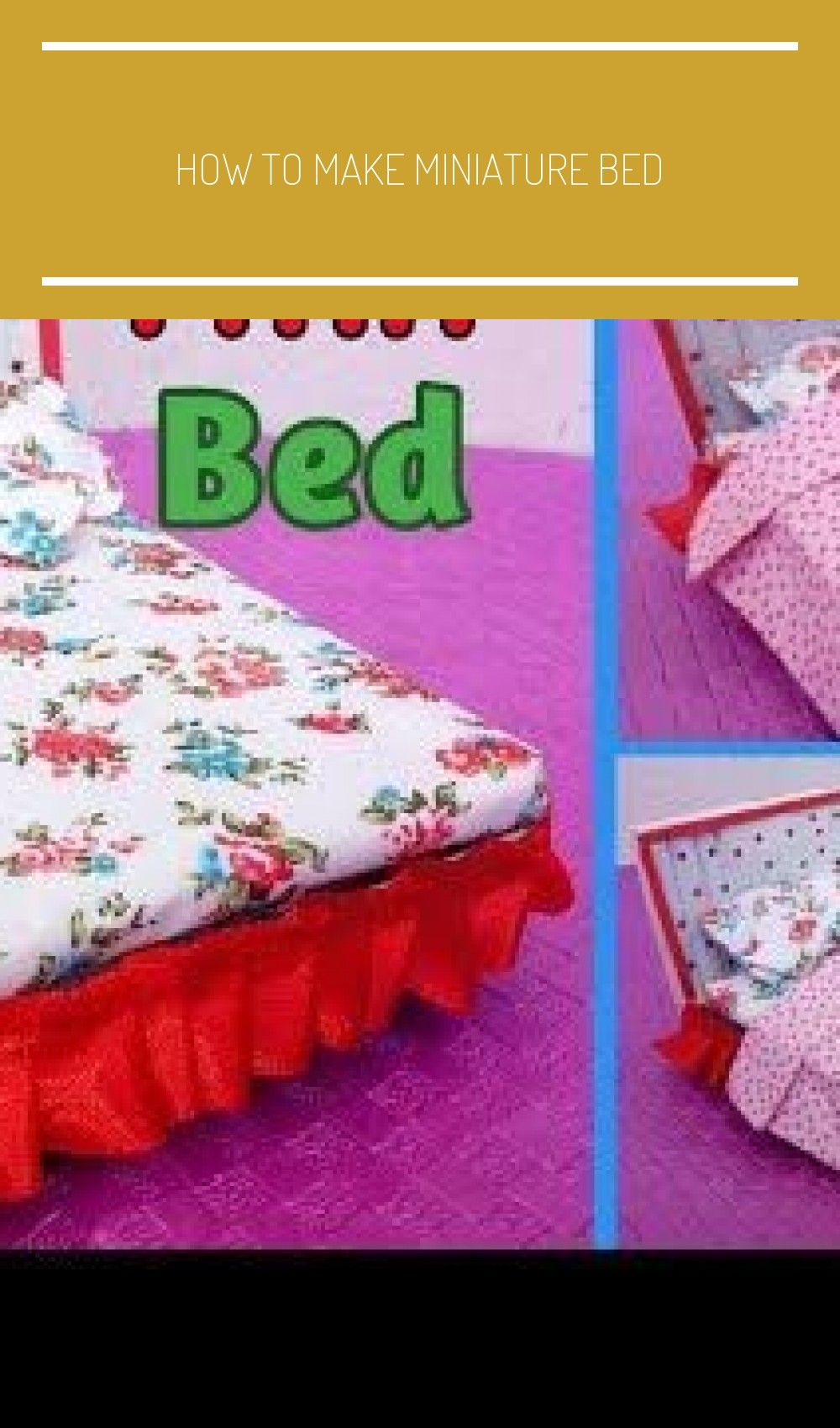 How To Make Miniature Bed For Dolls Miniature Craft How To Make Miniature Bed For Indian Dolls E.O.C - YouTube #indianbeddoll How To Make Miniature Bed For Dolls Miniature Craft How To Make Miniature Bed For Indian Dolls E.O.C - YouTube #how to make indian Dolls #indianbeddoll