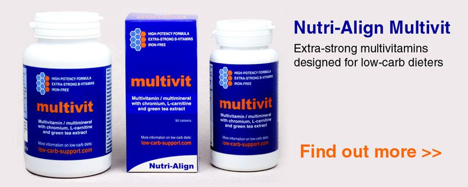 multivitamin for low carb diet