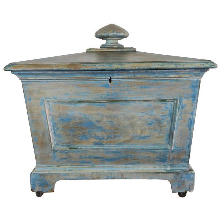 19th Century English Painted Wine Cooler | 1stdibs.com
