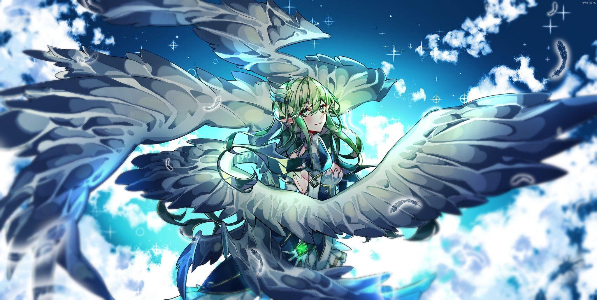 치토스 on Elsword, Monster girl encyclopedia, Anime