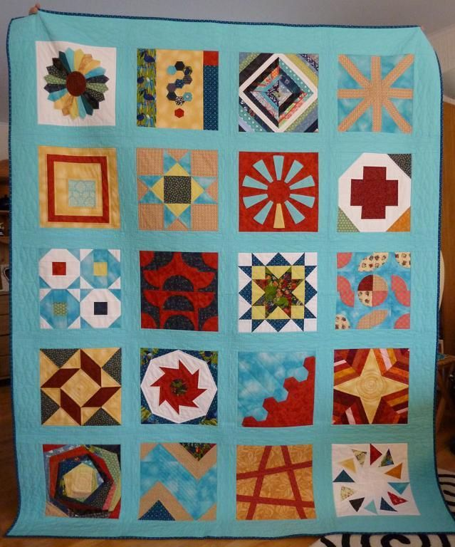 Looking for quilting project inspiration? Check out Craftsy BOM Quilt 2012 by member sylfel. - via @Craftsy