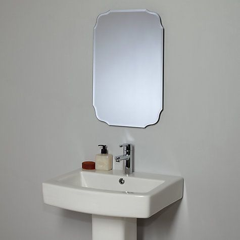 Buy John Lewis Vintage Bathroom Wall Mirror Online At Johnlewis Com