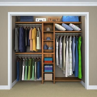 ClosetMaid Selectives 82.46 In. H X 108 In. W X 14.57 In. D 11 Piece Basic  Closet System In White