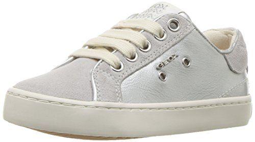 Geox Jr Kilwi Girl, Zapatillas para Niñas, Gris (LT Grey C1414), 30 EU