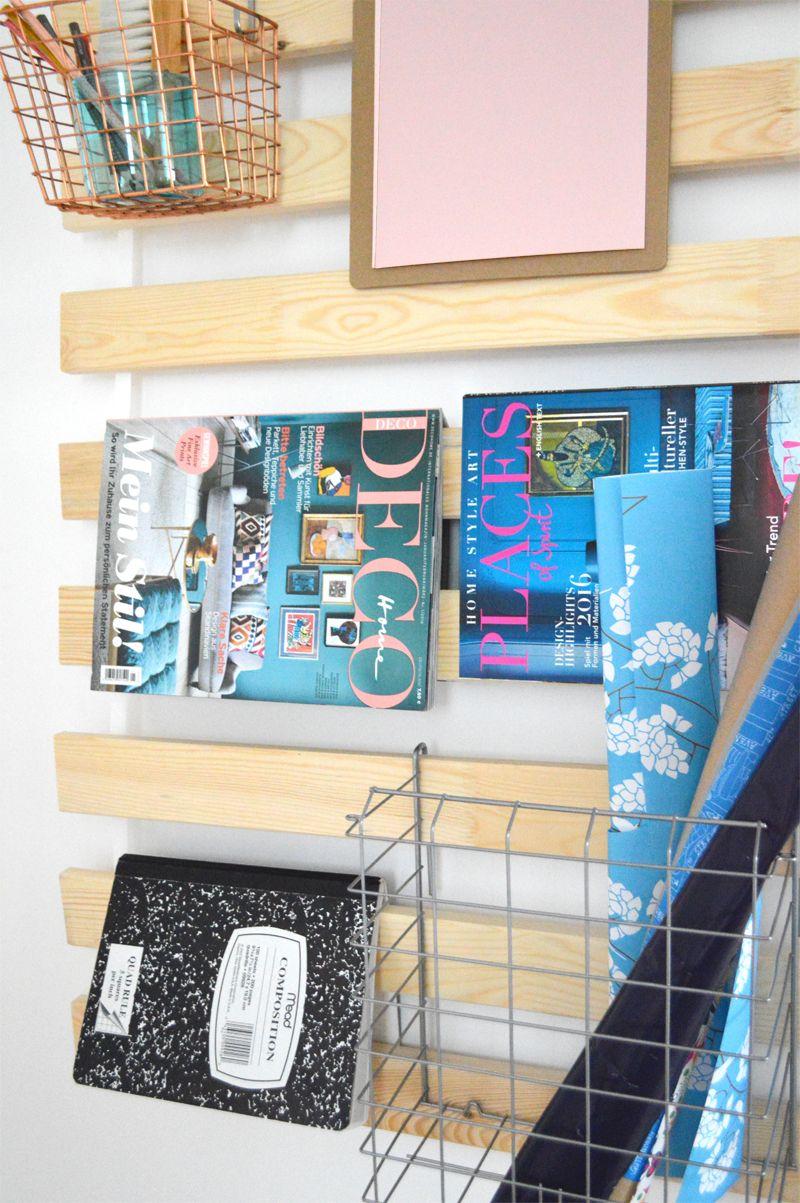 IKEA Hack DIY Utensilo mit Lattenrost SULTAN LADE | Ikea