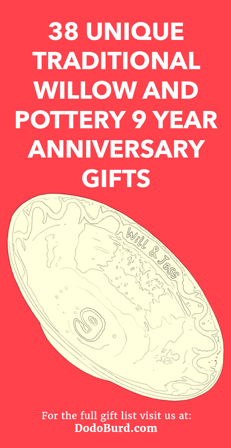 38 Unique Traditional Willow And Pottery 9 Year Anniversary Gifts In 2020 9 Year Anniversary Unique Anniversary Gifts Traditional Anniversary Gifts