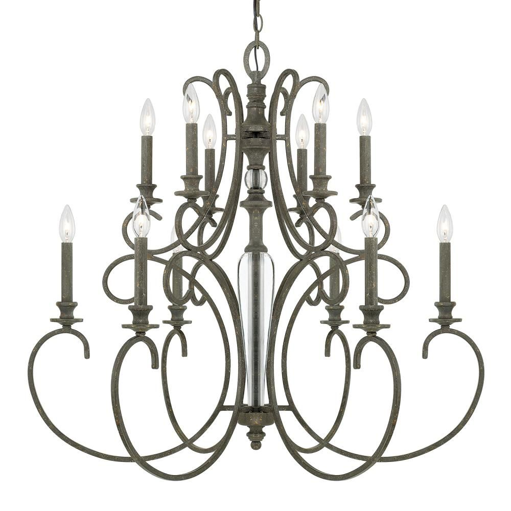 12 Light Chandelier Wxmu By Capital 417702fg Capital Lighting Large Foyer Chandeliers Capital Lighting Fixture