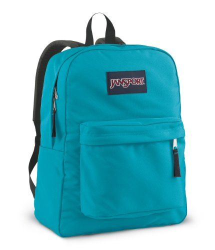 JanSport Superbreak School Backpack (Blinded Blue) JanSport | NEED ...