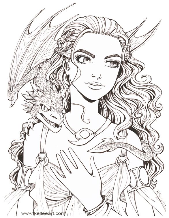 Dragon Mother by KelleeArt.deviantart.com on @deviantART   A Dragon ...
