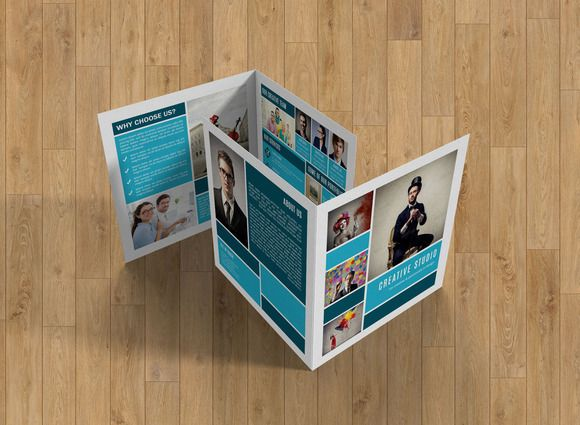 Studio BrochureV  Brochures Template And Corporate Brochure