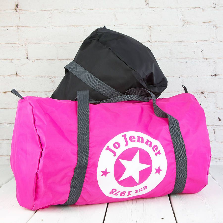 Bag Personalised Star Gym