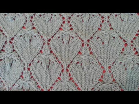 Strawberry Lace Stitch / Knitting pattern 21 | Knitting | Pinterest ...