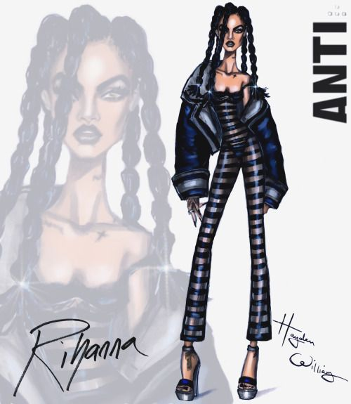 Rihanna #ANTI collection by Hayden Williams: Look 3  Be Inspirational ❥ Mz. Manerz: Being well dressed is a beautiful form of confidence, happiness & politeness