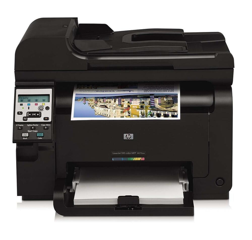 Hp laserjet pro 100 color mfp m175nw printer hp