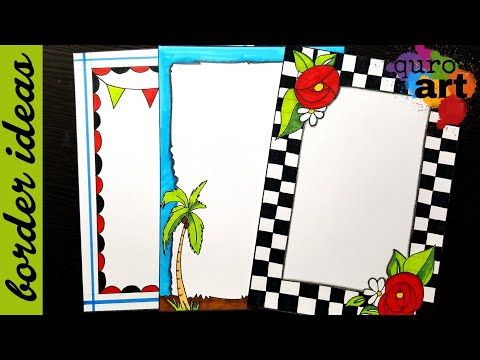 Check border designs on paper project work borders for also rh pinterest