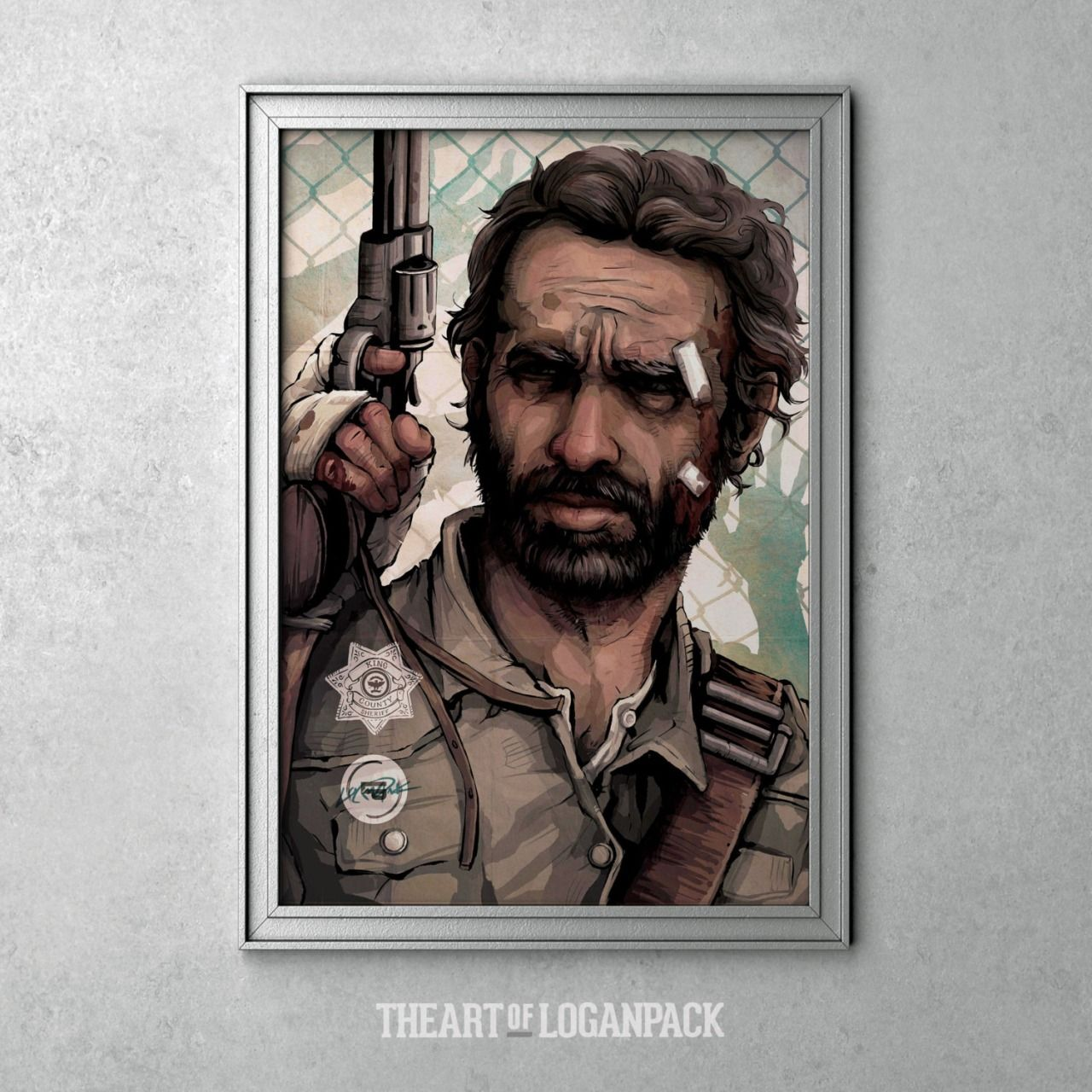 The Walking Dead Character Posters - Created by Logan Pack