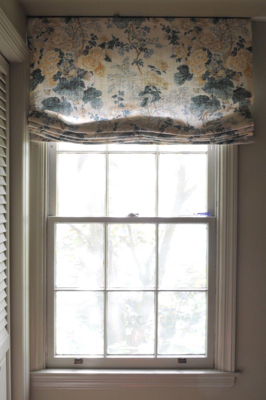 Outside window treatment ideas  nine  sixteen simple outside mount roman shade tutorial  details