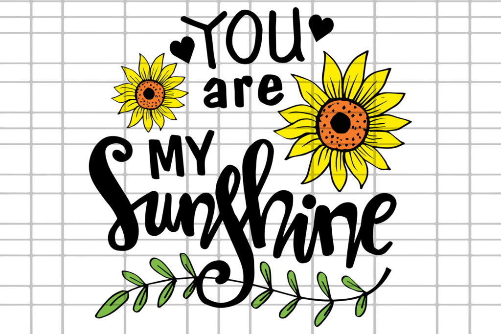 sunshine svg flower dxf sunflower clipart vinyl cricut thank designbundlesvg