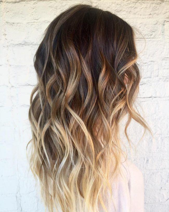 Sun Kissed Summer Locks Balayage Hair Long Layered Hair Hair Color Balayage