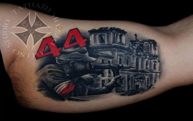 Znalezione Obrazy Dla Zapytania Tatuaże Patriotyczne