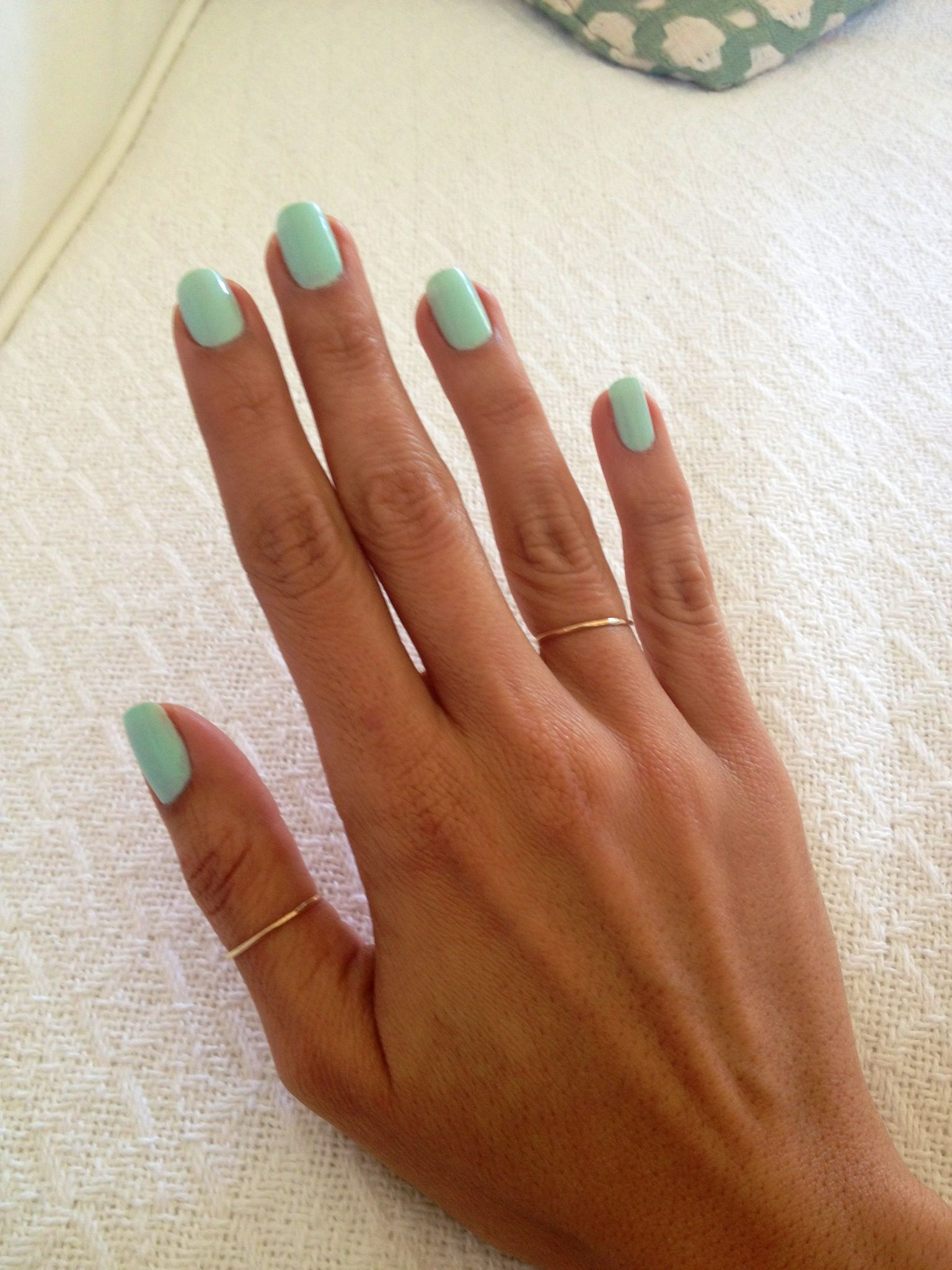 Butter London Fiver polish. Love the thin rings as well | things I ...