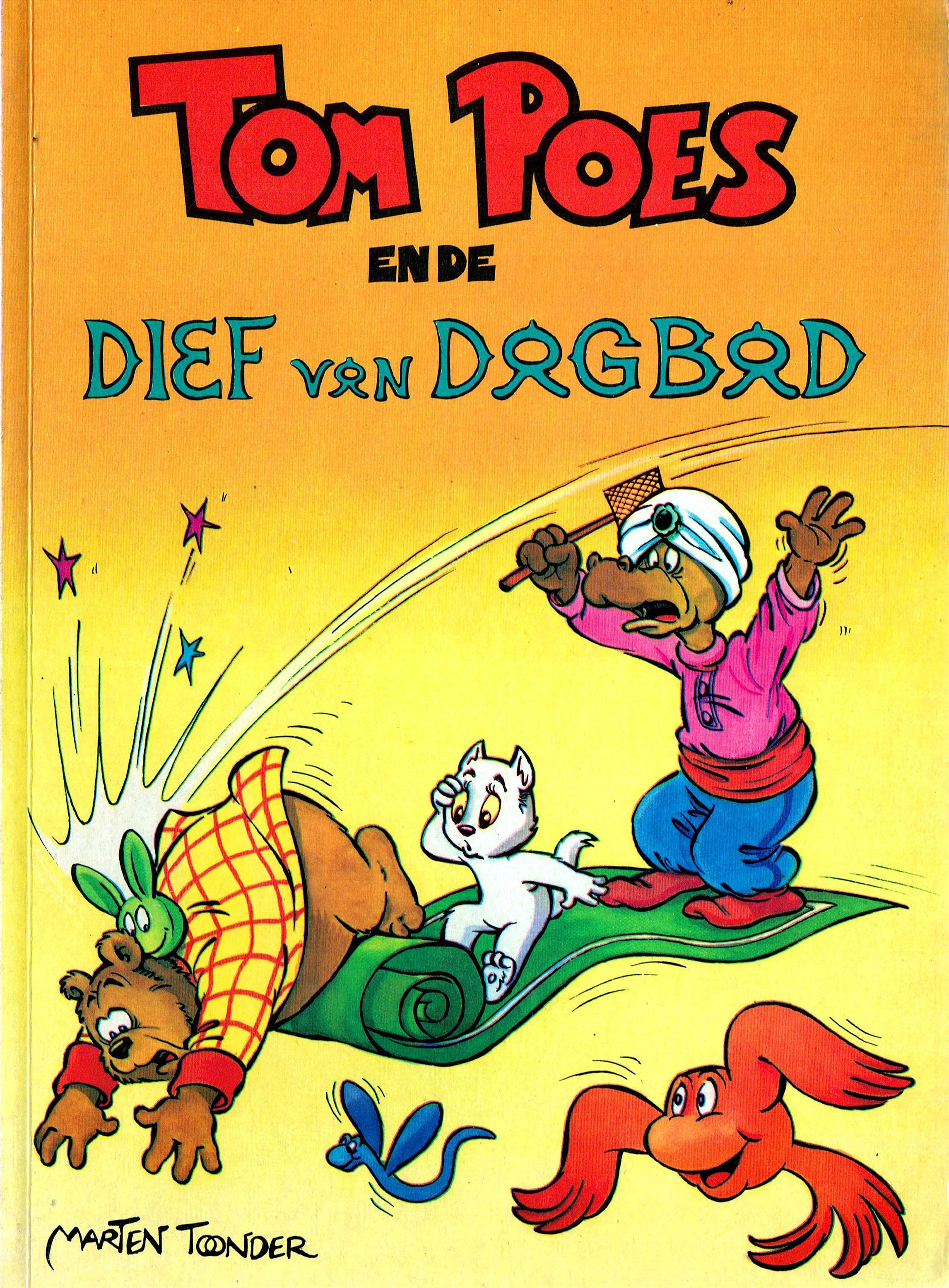 Tom Poes (Oberon) - 26 - Tom Poes En De Dief Van Bagad
