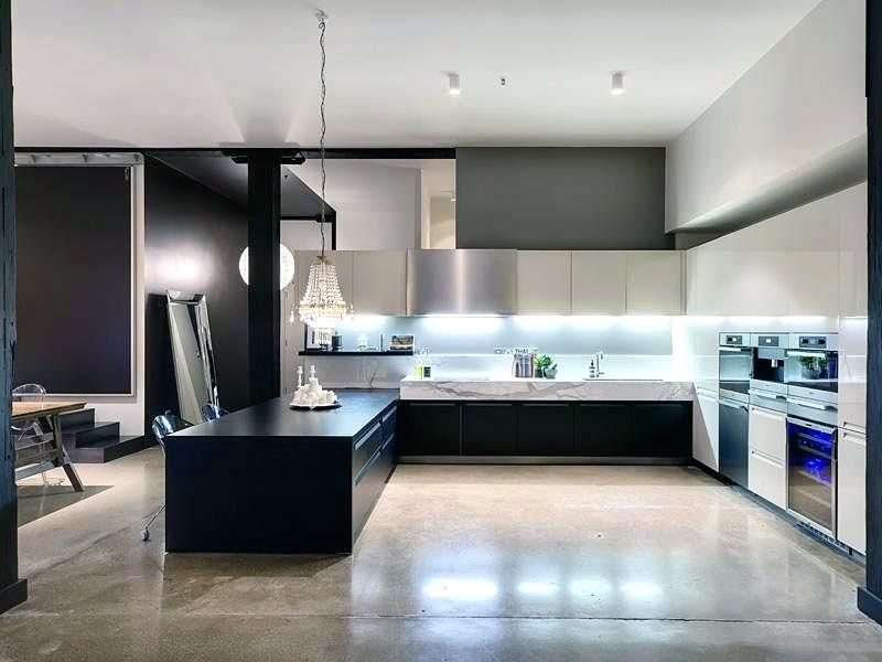 Concrete Floors In Kitchen Warm Kitchen Flooring Options Polished Concrete Floor With Additional Fresh Decors A Concrete Kitchen Floors Cost 욕실
